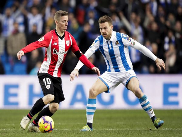 Nhận định tỷ lệ Bilbao vs Sociedad, 20h00 ngày 31/12 - La Liga