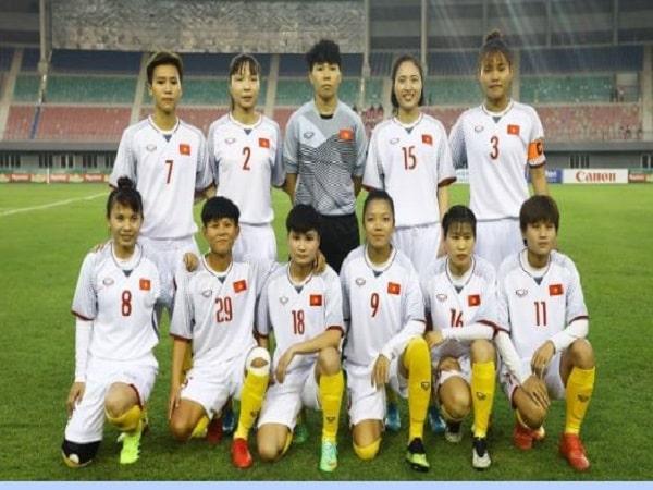 Đội tuyển bóng đá nữ Việt Nam đứng thứ mấy trên bảng xếp hạng thế giới?