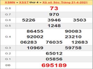 Soi cầu XSST 28/4/2021