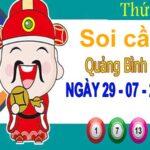 Soi cầu XSQB ngày 29/7/2021 – Soi cầu đài xổ số Quảng Bình thứ 5