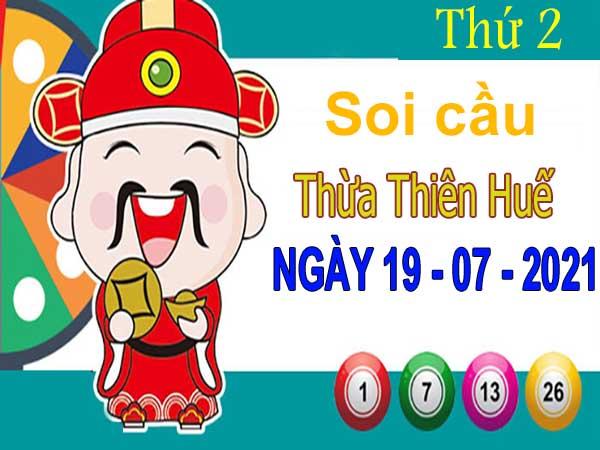 Soi cầu XSTTH ngày 19/7/2021 – Soi cầu xổ số Thừa Thiên Huế thứ 2