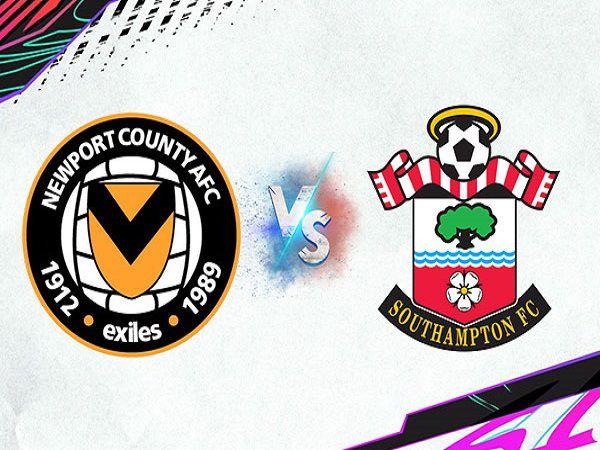 Soi kèo Newport County vs Southampton – 01h45 26/08, Cúp Liên đoàn Anh