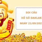 Soi cầu XS Daklak chính xác thứ 3 ngày 21/09/2021