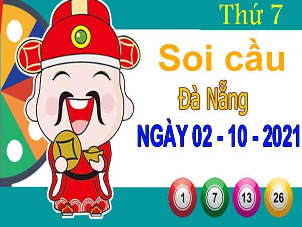 Soi cầu XSDNG ngày 2/10/2021 đài Đà Nẵng thứ 7 hôm nay chính xác nhất