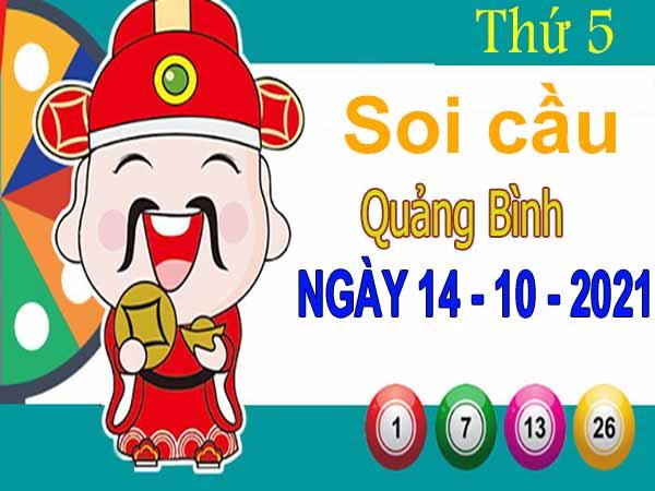 Soi cầu XSQB ngày 14/10/2021 – Soi cầu xổ số Quảng Bình thứ 5